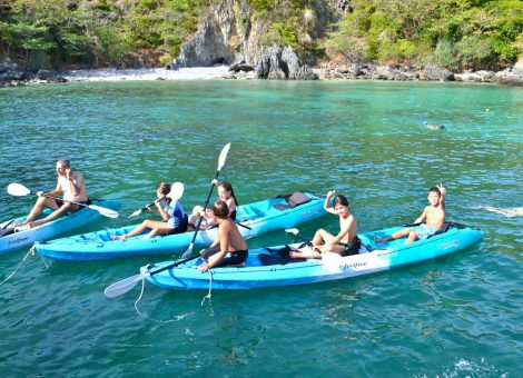 There are two main islands - Phi Phi Don and Phi Phi Ley (the movie