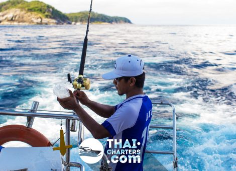 There is no need to spend a night onboard because due to its high speed you may visit a lot of islands nearby Phuket and neighboring provinces in just one day.