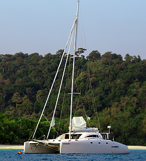 «Galeforce» sailing catamaran