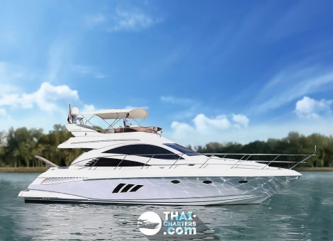 This range of luxurious motor yachts are designed and built to a very high standard and are a match for any of the better known brand names. Now the boat is available for rent in Phuket