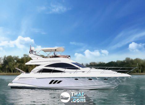 Роскошная моторная яхта «Integrity 55» представлена в серии Riviera Boat . Сейчас яхта доступна в аренду на Пхукете.