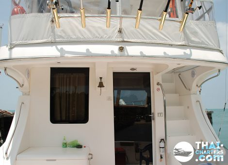 A gliding speed yacht Anna Maria 50 ft. was designed for those who love to travel with comfort!