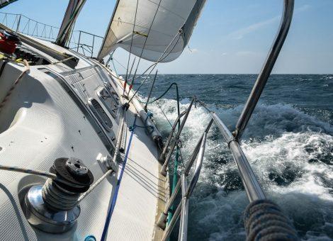 Classic yacht cruise