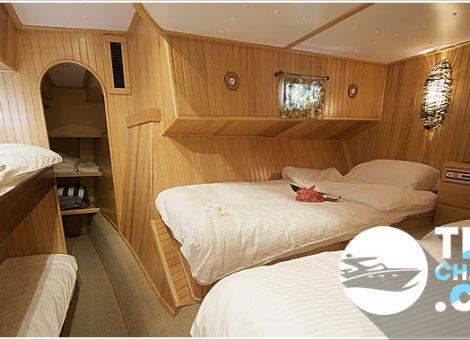 Катамаран «SHANGANI » в аренду на Пхукете. Роскошный и просторный парусный катамаран! Идеальный для семейного отдыха.
