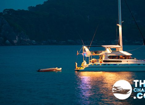 Luxury and spacious catamaran SHANGANI (20 meters) invites you to have fun out in the sea!