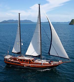 «Capricorn» sailing yacht