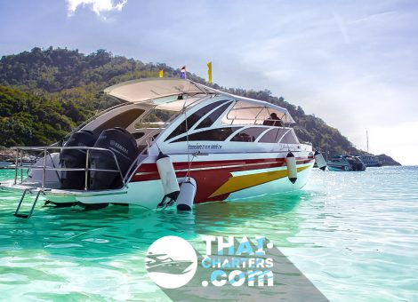 Emely speedboat is a good choice for sea trips and snorkeling.