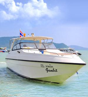 «Gambit» speedboat