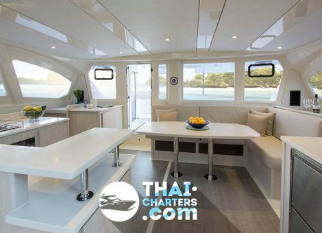 The Leopard 44 exhibits the tried and tested features that have made the Leopard line one of the most sought after brands of catamarans globally.