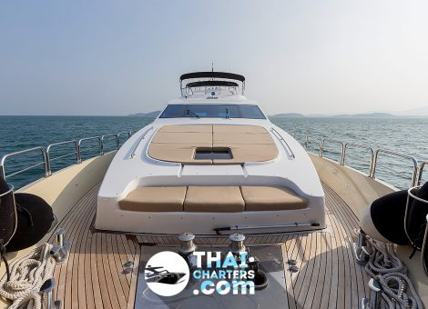 29 meters of this yacht host a lot of fascinating features: a fantastic flybridge with hot tub, BBQ zone and a dining area.