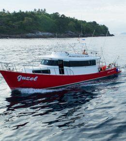 «guzel» рыбацкая лодка