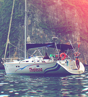 «Thalassa» sailing yacht Benetau 42
