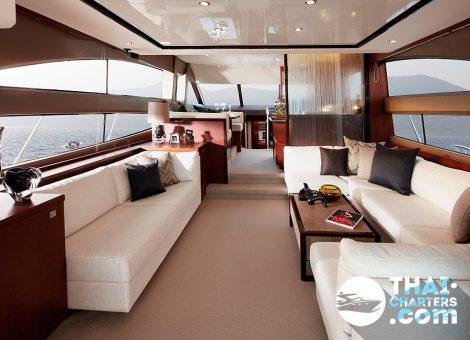 Яхты «Princess» пользуются огромной популярностью у мировых элит, среди них известные спортсмены и звезды эстрады, бизнесмены и политики, и, конечно же, члены королевской семьи Великобритании.