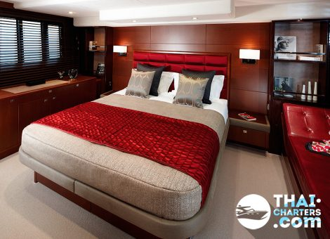 This motor yacht is an ultimate combination of the sports hull and luxury interior.