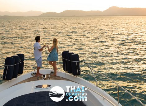 Luxury yacht accessory that does not indulge in anything, and enjoying every moment in private.