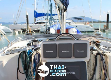 «Thalassa» парусная яхта Benetau 42
