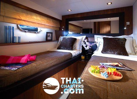 «Sunseeker Manhattan 60» моторная яхта в аренду на Пхукете.