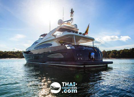 «astondoa 102 Gxl» Моторная яхта
