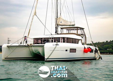 «lagoon 420» парусный катамаран