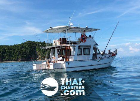 «red Dragon» рыбацкая лодка