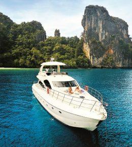 Моторная яхта «lamberti 80 Ft»
