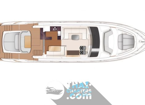 «princess S65» моторная яхта