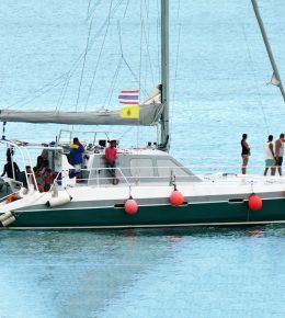 «oceanic 55ft» парусный катамаран