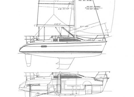 Sailing Yacht For Sale Hunter 280