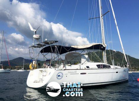 «oceanis 43ft» парусная яхта