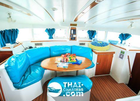 «lagoon 380» парусный катамаран